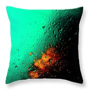 Droplets Iv Throw Pillow