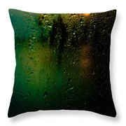 Droplets X Throw Pillow
