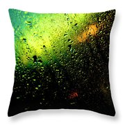 Droplets Xii Throw Pillow