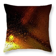 Droplets Xiv Throw Pillow