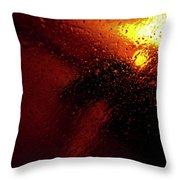 Droplets Xv Throw Pillow