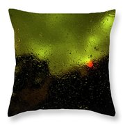 Droplets Xvi Throw Pillow