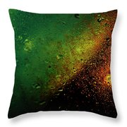 Droplets Xviii Throw Pillow
