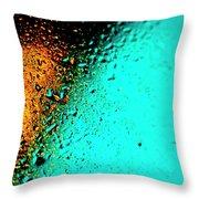 Droplets Xxiii Throw Pillow