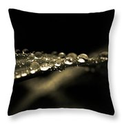 Droplets2 Throw Pillow