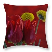 Drops Of Love Throw Pillow