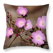 Drosera Menziesii Throw Pillow