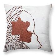 Drowsy - Tile Throw Pillow