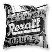 Drug Store #2 Throw Pillow