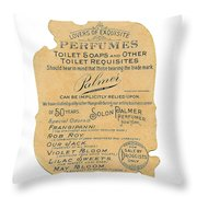Druggists Throw Pillow