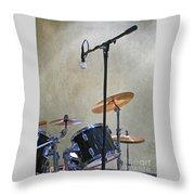 Drummers Joy Throw Pillow