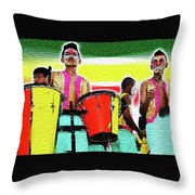 Drums Throw Pillow