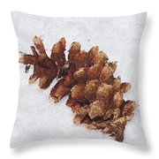 Dry Cone Throw Pillow