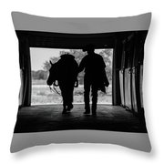 Dry Creek Stables Throw Pillow