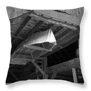 Dry Dock Throw Pillow
