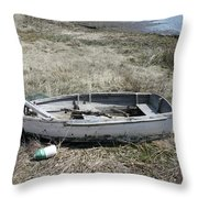 Dry Docked Throw Pillow