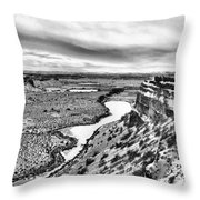 Dry Falls Throw Pillow