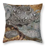 Dry Organics Throw Pillow