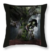 Dryad's Dance Throw Pillow