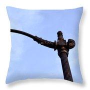 Dte Lamp Post Throw Pillow