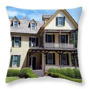 du Bignon Cottage Throw Pillow
