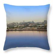 Dubai City View Throw Pillow