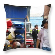 Dublin Alley Throw Pillow