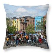Dublin Day Throw Pillow
