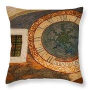 Dubrovnik Fresco Throw Pillow