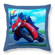 Ducati 916 Throw Pillow