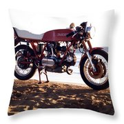 Ducati Throw Pillow