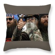 Duck Dynasty Throw Pillow