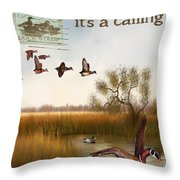Duck Hunting-jp2783 Throw Pillow