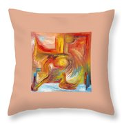 Duck The Alchemist Throw Pillow