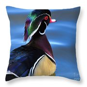 Ducktail Soup Throw Pillow