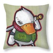 Ducky Death Throw Pillow