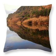 Duddingston And The Queen's Park Throw Pillow