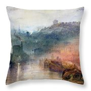 Dudley Worcester Throw Pillow by Joseph Mallord William Turner