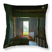 Dudley's Chapel Window - Painting Effect Throw Pillow