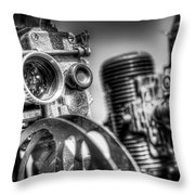 Dueling Projectors Throw Pillow
