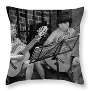 Dueling  Throw Pillow