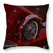 Duesenberg Side View Throw Pillow