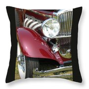 Duesenberg Sj Throw Pillow