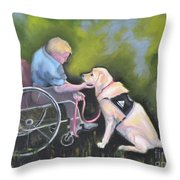Duet Throw Pillow