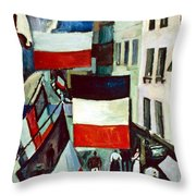 Dufy: Flags, 1906 Throw Pillow