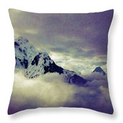Dughla, Nepal Throw Pillow