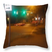Duke And Chestnut Throw Pillow