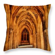 Duke Chapel Throw Pillow