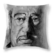 Duke Ellington Throw Pillow