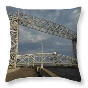Duluth Lift Bridge 2 Throw Pillow